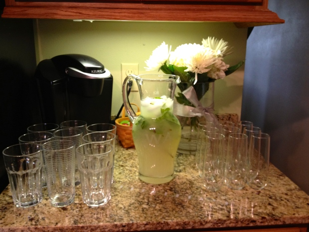 25th Anniversary Party -- Mint Lemonade