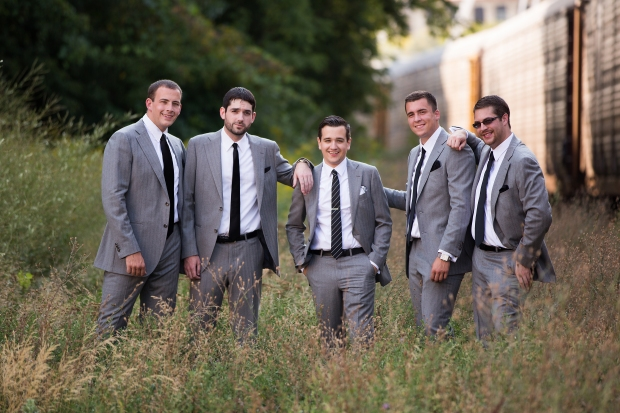 groom + groomsmen | Affichomanie Blog