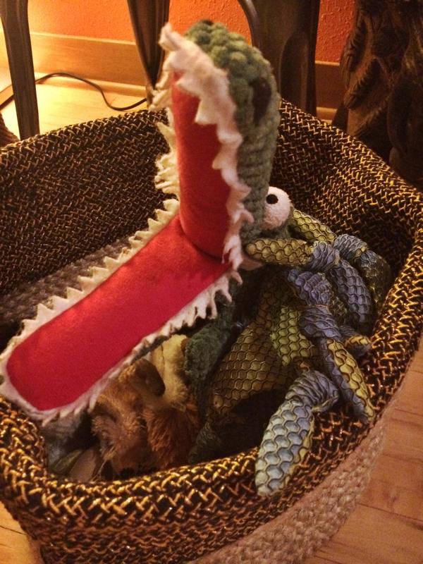 Nate Berkus for Target Basket -- Dog Toys