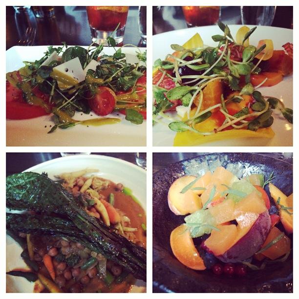 Hinterland Erie Street Gastropub, Vegetarian Tasting Menu, Milwaukee