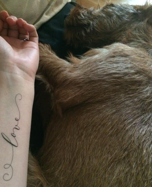"""Tattly Temporary """"Love"""" Tattoo"""