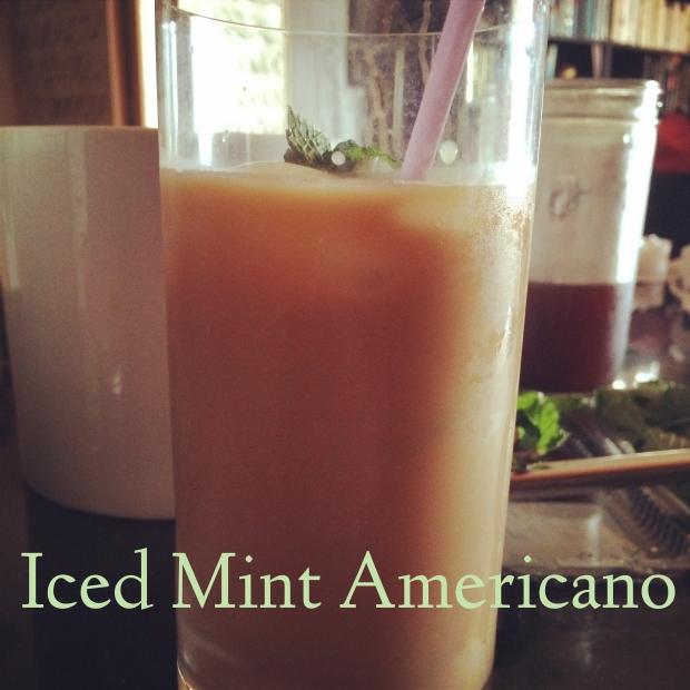 Iced Mint Americano