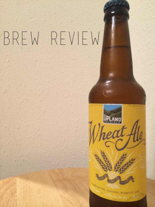 Brew Review: Upland Brewing Co. Wheat Ale