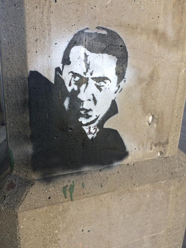 Dracula Graffiti
