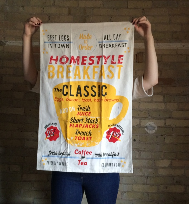 Crate + Barrel Breakfast Dish Towel