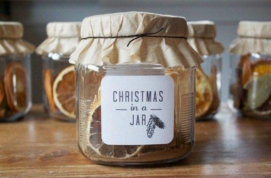 xmas in a jar