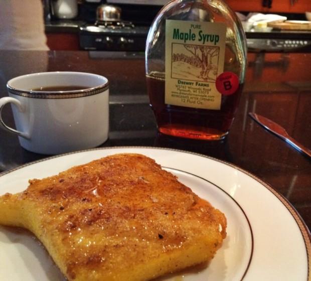 French Toast Polenta